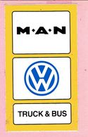 Sticker - M.A.N - VW - TRUCK & BUS - Autocollants