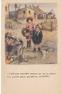 & Ligne Nationale Contre Le Taudis .. Mouches, Poulbot, Ordures, Detritus - Missie