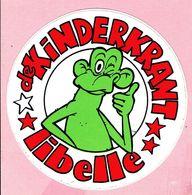 Sticker - De KiNDERKRANT - Libelle - Autocollants