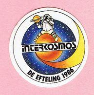 Sticker - INTERCOSMOS - DE EFTELING 1986 - Autocollants