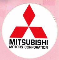 Sticker - MITSUBISHI MOTORS CORPORATION - Autocollants