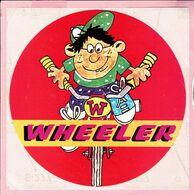Sticker - WHEELER - Autocollants