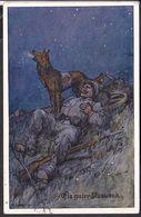 """Postkarte Rotkreuz Hund """" Ein Guter Kamerad """" 1915 - War 1914-18"""