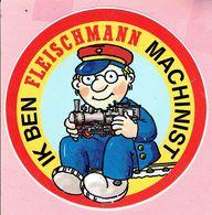 Sticker - IK BEN FLEISCHMANN MACHINIST - Trein - Autocollants