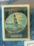 Pin's FOOTBALL - EURO 2008 - GENEVE - NEUF SOUS BLISTER - Fútbol