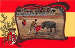 R424588 Bombita Pasando De Muleta. Mark. S. Seruya - Cartoline