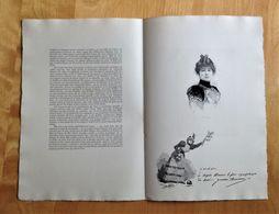 Monographie De Juana Romani Modèle Et Artiste Peintre Par Mariani. - Prints & Engravings