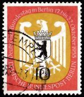GERMAN Berlin - Scott #9N116 Arms Of Berlin / Used Stamp - Oblitérés