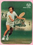 Sticker - SERGIO TACCHINI - Jan Kodes (Czechoslovakia) - Tennis - Autocollants