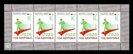 Moldova (Transnistria) 2020 #963 Year Of Health. Sport (M/S) MNH ** - Moldawien (Moldau)