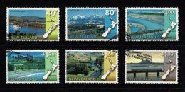 New Zealand 1997 Scenic Issue Set Of 6 Used - New Zealand