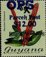 GUYANA 1983 Flowers Diana Wedding Narantea Guianensis 12/1.10/$2OVPT:OPS - Guyana (1966-...)