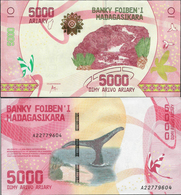 Madagascar 2017 - 5000 Ariary - Pick NEW UNC - Madagascar