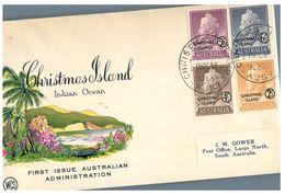 (H 25 C) Christmas Island - 1968 FDC Cover - Christmas Island