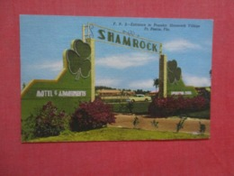 Shamrock Village Ft Pierce  Florida      Ref 4281 - Etats-Unis