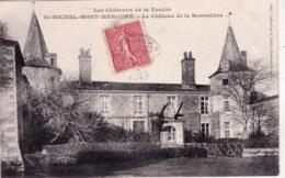 85 - Vendee -  Saint Michel Mont Mercure -  Le Chateau De La Bonneliere - Francia