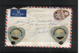 (stamps 9/8/2020) Tonga Cover Posted To Australia (1971) - Tonga (1970-...)
