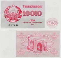 Uzbekistan 1992 - 10000 Sum - Pick 72 UNC - Uzbekistan
