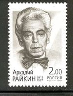 RUSSIA 2001 A. Raikin, Comedian; Scott Catalogue No(s). 6666 MNH - 1992-.... Federation