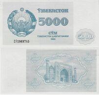 Uzbekistan 1992 - 5000 Sum - Pick 71 UNC - Uzbekistan