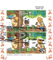 New Zealand 1977 Health M/S USED - Blocks & Sheetlets
