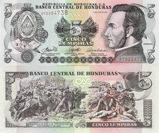 Honduras 2006 - 5 Lempiras - Pick 91a UNC - Honduras