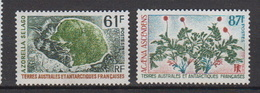 1974-TAAF-N°52/53** FLORE - Neufs