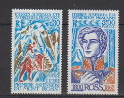 1976-TAAF-N°61/62**ASCENTION DU MONT ROSS - Unused Stamps