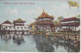China - Teehaus I.China Medol Werbekarte Pearson Hamburg Ca. 1905/10 - Postcards