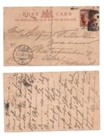 Großbritannien Ganzsache Nach Idar 1890 Victoria; Postal Stationery GB Post Card - 1840-1901 (Victoria)