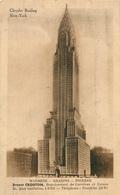 CPA New York City-Chrysler Building-Ernest Crouton-Carte Publicitaire    L3112 - Chrysler Building