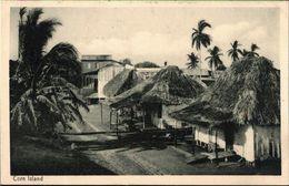 ! Alte Ansichtskarte Corn Island, Islas Del Maiz, Nicaragua, Druck Knackstedt, Hamburg - Nicaragua