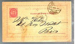 35511 - De LISBOA Pour La France - Postal Stationery