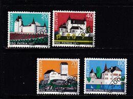 Schweiz, Nr. 1096/99, Gest. (T 17796) - Usati