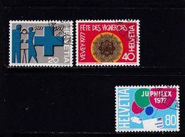 Schweiz, Nr. 1087/89, Gest. (T 17797) - Usati