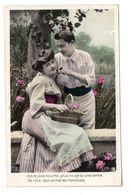 CPA - COUPLE - CERISES - Couples