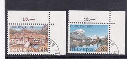 Schweiz, Nr. 1128/29, Gest. (T 17800) - Usati