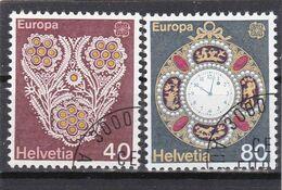 Schweiz, Nr. 1073/74, Gest. (T 17802) - Usati