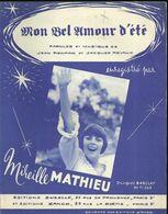 """""""Mon Bel Amour D'été"""" - Mireille Mathieu - Paroles Et Musique De Jean Renard Et Jacques Revaux - Musica & Strumenti"""