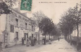 44-MAUVES AVENUE DE LA GARE HOTEL DES VOYAGEURS - Francia