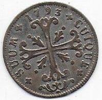 SUISSE - 1/2 Batzen - 1793 - Suiza