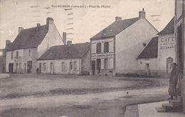 44-MAUMUSSON PLACE DE L EGLISE - Francia