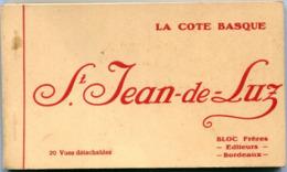 64 - Saint Jean De Luz : Carnet De 20 Vues Détachables - Saint Jean De Luz