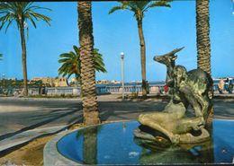 Libya -   Postcard Unused  -  Tripoli - The Gazelle Fountain - Libyen