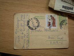 Dopisnica FNR Jugoslavija Nedelja Crvenog Krsta Red Cross Stamps Zagreb To Novi Sad - 1945-1992 République Fédérative Populaire De Yougoslavie