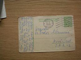 Dopisnica FNR Jugoslavija  Zagreb To Novi Sad - 1945-1992 République Fédérative Populaire De Yougoslavie