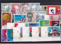 Schweiz, Kpl. Jahrgang 1979, Gest (T 17805) - Usati