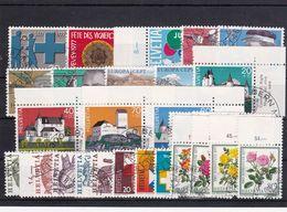 Schweiz, Kpl. Jahrgang 1977, Gest (T 17807) - Usati