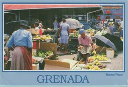 CPM:    ST.  GEORGE'S   GRENADA  (antille) :  Market Place.     (G186) - Mercati