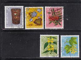 Schweiz, Nr. 1062/66, Gest (T 17808) - Usati